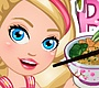 Speel het nieuwe girl spel: Chef Barbie - Japanse Kip