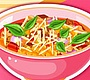 Speel het nieuwe girl spel: Lasagne Soep