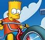 Speel het nieuwe girl spel: Simpsons Bike Rally