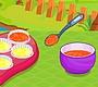 Speel het nieuwe girl spel: Regenboog Cupcakes