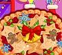 Speel het nieuwe girl spel: Kersttaart Bakken