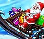 Speel het nieuwe girl spel: Kerstman Op De Sneeuwscooter