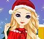 Speel het nieuwe girl spel: Miss Kerst Makeover