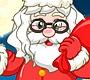 Speel het nieuwe girl spel: Kerstman Haarsalon
