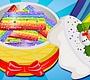 Speel het nieuwe girl spel: Regenboog Suiker Koekjes