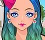 Speel het nieuwe girl spel: Kleurige Make Up