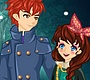Play the new Girl Flash Game: Snow Night Couple