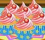 Speel het nieuwe girl spel: Creamy Cupcakes