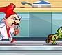 Speel het nieuwe girl spel: Turtle Mega Rush