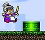 Speel het nieuwe girl spel: Flappy Oma
