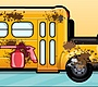 Speel het nieuwe girl spel: Schoolbus Wassen