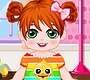 Play the new Girl Flash Game: Baby Care Justine