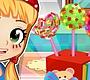 Speel het nieuwe girl spel: Cake Lollies Maken