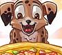 Speel het nieuwe girl spel: Puppy Pizza