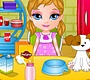 Play the new Girl Flash Game: Baby Barbie Adopts A Pet