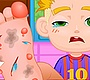 Play the new Girl Flash Game: Big Foot Doctor