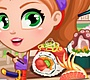 Play the new Girl Flash Game: Ninja Sushi