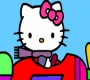 Speel het nieuwe girl spel: Hello Kitty Kleurplaat