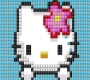 Speel het nieuwe girl spel: Hello Kitty Borduren