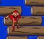 Speel het nieuwe girl spel: Boomstammen