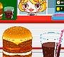 Speel het nieuwe girl spel: Hamburger Girl
