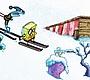 Speel het nieuwe girl spel: Spongebob Plankton Skie
