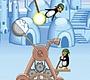 Speel het nieuwe girl spel: Crazy Pinguin Katapult
