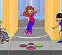 Speel het nieuwe girl spel: Touwtje springen met Carla