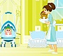 Play the new Girl Flash Game: Baby Sitting