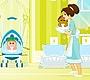 Speel het nieuwe girl spel: Baby Sitting