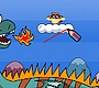 Speel het nieuwe girl spel: Bouncy Wasbeer