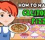 Speel het nieuwe girl spel: California Pizza