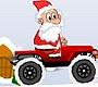 Speel het nieuwe girl spel: Kerstman Jeep