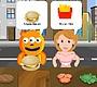 Speel het nieuwe girl spel: Burger Jam