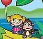 Speel het nieuwe girl spel: Animal Balloons