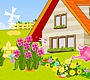 Play the new Girl Flash Game: Flower Gardering
