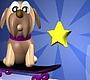 Speel het nieuwe girl spel: Skate Hond