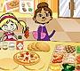 Speel het nieuwe girl spel: Pizza Mania