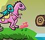 Speel het nieuwe girl spel: Dino Rush
