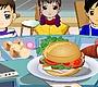 Speel het nieuwe girl spel: Merry Burger