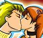 Speel het nieuwe girl spel: Kus in het Park