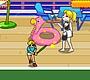 Speel het nieuwe girl spel: Twisted Tennis