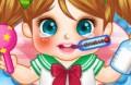 Jogar o novo jogo: Cute Baby Fria Doctor