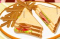 Joue �: Turkey Club Sandwich