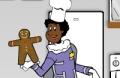 Spiel: Machen Sie Ein Lebkuchen-Mann-