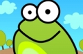 Spiel: Tippen Sie Auf Den Frosch-Gekritzel