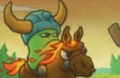 Gebrochene Horn