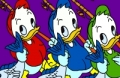 Spiel: Donald Und Familie Online Färbung Spiel