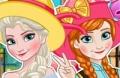 Spiel: Elsa Und Anna Polaroid