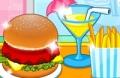 Spiel: Burger Shop Fast Food